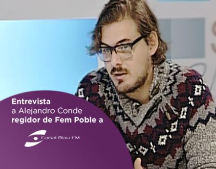 Entrevista a Alejandro Conde a Canal Blau